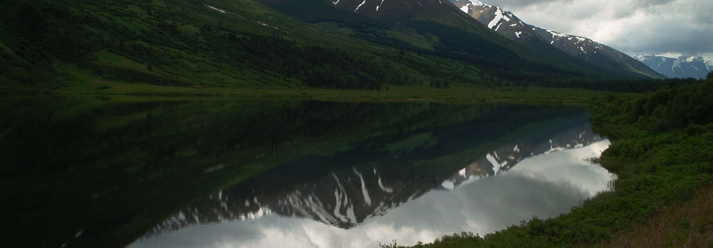 Lower Summit Lake, Seward Hwy, Kenai Peninsula, AK